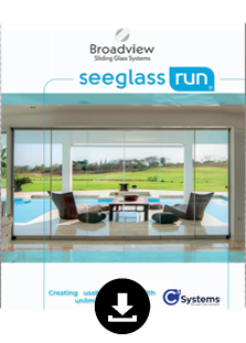 seeglass run sliding glass broadview